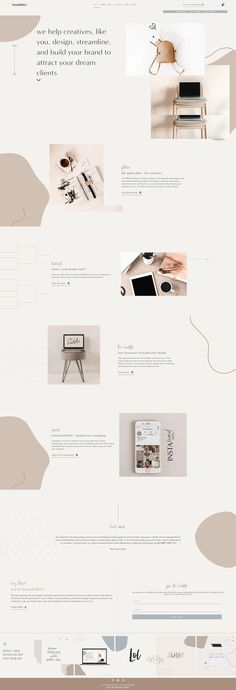 Minimal Web Design, Flat Web Design, Creative Web Design, Creative Studio, Website Design Inspiration, Beautiful Website Design, Layout Inspiration, Website Design Layout, Web Layout