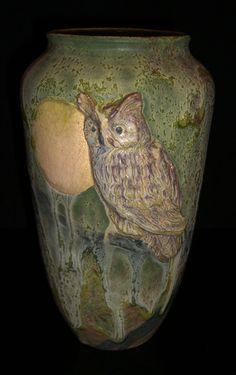 Horned Owl pot.