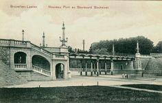 Le Nouveau Pont Boulevard Emile Bockstael en 1907