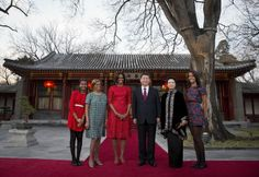 Talk About the Pressure of Packing: See What Malia and Sasha Obama Wore in China