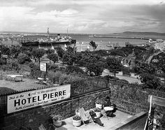 Hotel Pierre Dun Laoghaire 1958 by Irish Photo Archive Old Pictures, Old Photos, Pierre Hotel, Michael Church, Dublin City, Historical Images, Dublin Ireland, Photo Archive, Art Pages