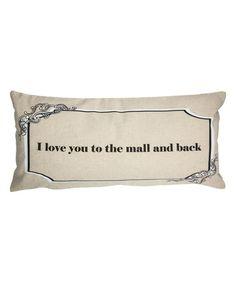 Look what I found on #zulily! 'Diamonds' Throw Pillow #zulilyfinds