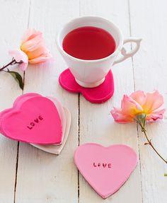 Chá com louças amorosas | Eu Decoro