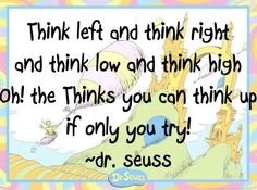 Dr. Suess Inspirational Quote