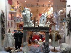 Les Doudous de Justine boutique, Marseille, France. Vitrine. Shop window.