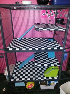 My ferrets cage