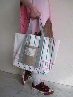 spoken words project スポークンワーズプロジェクト TOTO BAG check - tity