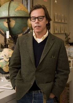 "Andy Spade - the genius who created my long time favorite brand Jack Spade - ""I always looked to that as something to aspire to.  Men don't need 40 stores.  They want their own store.  They don't want to be part of a chain."""