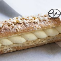 Baguette Tropézienne Par Christophe Michalak - Basic Homemade Bread Recipe - The healthiest bread to make? Chefs, Eclairs, Sweet Bread, Plated Desserts, Chocolate Recipes, Biscuits, Bakery, Food And Drink, Cooking Recipes