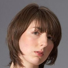 MarieClaire Styling Tips for Short Hair: Pull layers forward as you dry so they frame the face and lie flat all at once.