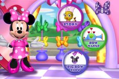 minnies bow toons