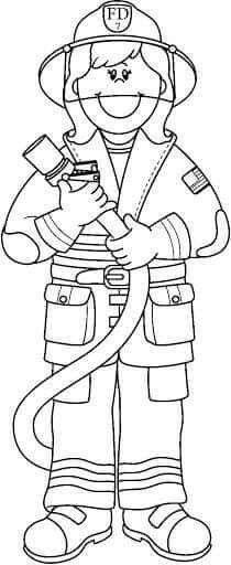 Community Helpers Worksheets, Community Helpers Preschool, School Community, Preschool Education, Colouring Pages, Coloring Books, Kindergarten Drawing, Fire Safety Week, People Who Help Us
