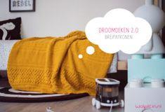 Droomdeken 2.0 KAL 2018 breipatronen Manta Crochet, Knit Crochet, Afghan Blanket, Knitted Hats, Diy And Crafts, About Me Blog, Knitting, How To Make, Blankets