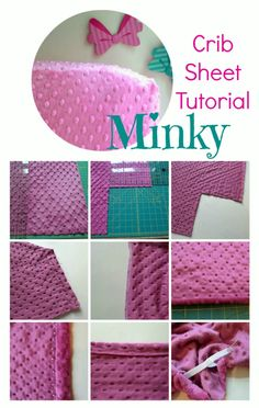 Minky Toddler + Crib Sheet Tutorial