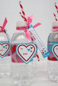 """Guest Project — """"Love Juice"""" Valentine's Day Gift Idea {with free printable}!!"""