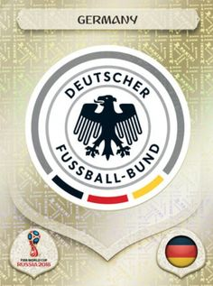 Germany 2018 World Cup Finals card. World Cup Russia 2018, World Cup 2018, Fifa World Cup, Fifa 1, Premier League, America Album, Mens World Cup, Word Cup, Germany Football