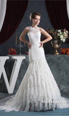 http://www.ikmdresses.com/Decent-A-Line-Natural-Portrait-Church-Court-Train-Lace-Slim-Wedding-Dress-p21115