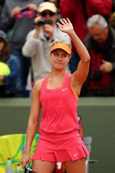 Eugenie Bouchard @JugamosTenis #RolandGarros #tennis