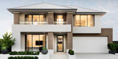 Webb & Brown-Neaves is an award winning Luxury Home Builder in Perth & WA. View our Custom Two Storey Homes Designs, find Display Homes & more. Two Story House Plans, Two Storey House, Storey Homes, Display Homes, Prefab Homes, Facade House, House Front, Modern House Design, Home Builders