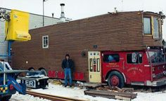 Damien's LaFrance Firetruck Housecar, one of my all time favorites
