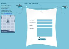 21 best Contact Pages- Website Design images on Pinterest | Contact ...