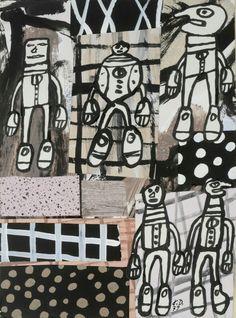 Jean Dubuffet-Sequence XXX-2012 Poster