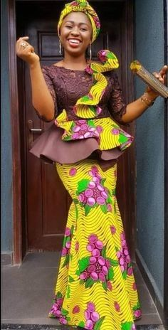 African Lace Styles, African Dresses For Kids, African Maxi Dresses, African Inspired Fashion, Latest African Fashion Dresses, African Fashion Ankara, African Attire, Long Ankara Dresses, Ankara Styles