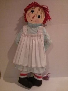Raggedy Ann Pinata Custom Made by PinataVille on Etsy - I think it's too cute to use!