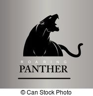 Clipart Vector of Fearless Panther Roaring Predator Roaring Panther Panther. - Search Clip Art, Illustration, Drawings and Vector EPS Graphics Images Pantera Logo, Crossfit Logo, Team Logo, Animal Symbolism, Stencil Art, Logo Concept, Sports Logo, Logo Design Inspiration, Black Panther