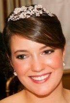 Tiara Mania: Diamond Floral Tiara worn by Princess Alexandra of Luxembourg