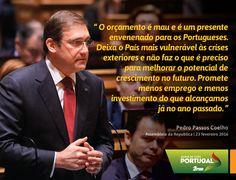 Pedro Passos Coelho, Presidente do Partido Social Democrata, no debate do Orçamento do Estado para 2016. #PSD #acimadetudoportugal