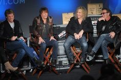 Bon Jovi - you know Richie is saying something funny