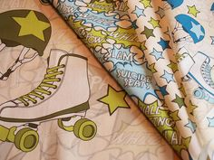 Roller Derby Fabric Collection