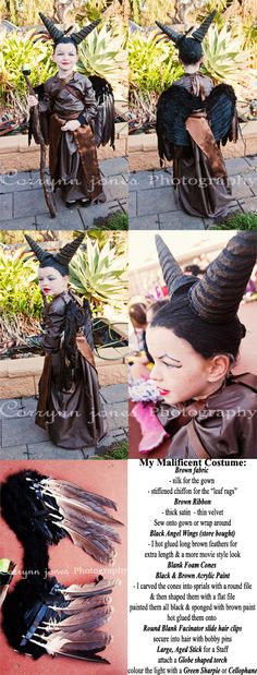DIY Maleficent Costume, Angelina Jolie style, film Maleficent, Sleeping Beauty, Fairy Queen, Horns, Wings, DIY, Bookweek 2014, Award winner, Bookweek Winner, Costumes for girls, Make it yourself, Most of these things were sourced from our local craft store, Spotlight, yard sales & Kmart, everything was put together & made by Corrynn Jones, Corrynn Jones Photography, Adelaide based destination photographer. Malificent