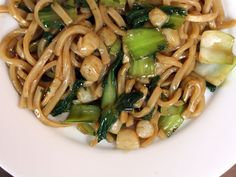 Noodles with Flank Steak, Bok Choy, and Black Bean Sauce | Recipe ...