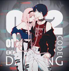 Anime : darling in the franxx. Anime Tumblr, Tamako Love Story, Naruto E Boruto, Film D'animation, Manga Couple, Zero Two, Darling In The Franxx, Howls Moving Castle, Animes Wallpapers