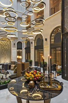 10 karakoy - The interiors have been designed with great aplomb by award-winning architect Sinan Kafadar. #Jetsetter