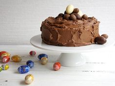 This quick and easy chocolate mud cake looks impressive on the dinner table and is sure to be a hit with everyone this Easter.