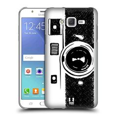 Head Case Designs Old Style Camera Sketch Hand Drawn Gadgets Hard Back Case for Samsung Galaxy J7 * You can get more details by clicking on the image.