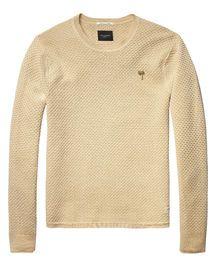 Crew Neck Pullover |Pullover|Men Clothing at Scotch & Soda