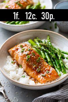 Salmon recipes 459156124502648990 - Teriyaki Salmon Recipe – Cooking Classy Source by petraterHark Fish Recipes, Seafood Recipes, Chicken Recipes, Steamed Salmon Recipes, Oven Salmon Recipes, Salmon Meals, Healthy Chicken, Tasty Meal, Baked Teriyaki Salmon
