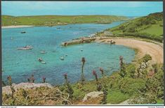 New Grimsby Harbour, Tresco, Isles of Scilly, c.1970s - Gibson Postcard