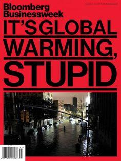 Bloomberg magazine: it's global warming, stupid!