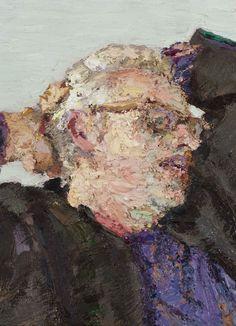 Yisrael Dror Hemed, Jacobs Resting, 2012, oil on canvas, 44x32 cm