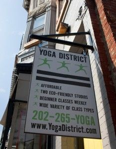 Yoga District - various locations