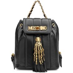 Pre-owned - Leather handbag Moschino