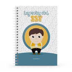 Cuaderno XL - Las notas del sst, encuentra este producto en nuestra tienda online y personalízalo con un nombre. Notebook, Cover, Notebooks, Report Cards, Store, The Notebook, Exercise Book