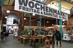 Markthalle Neun, Berlin...streetfood donnerstags, Wochenmarkt freitags und samstags
