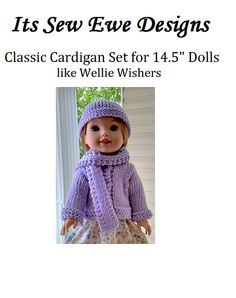 Easy Knitting Pattern: Sweater Hat & Scarf Set for