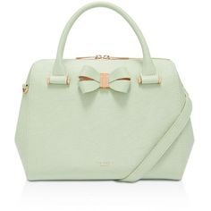 acf3c30db Ted Baker Bowsiia Bow Detail Small Bowler ( 349) ❤ liked on Polyvore  featuring bags
